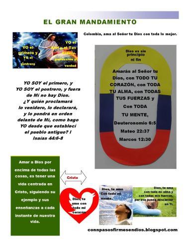 EL GRAN MANDAMIENTO-PUBLISHER-BLOG DIAPOSITIVA